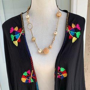 Black shawl/wrap size M/L